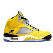 Air Jordan 5 Retro Tokyo 23 ( Yellow / White / Black )