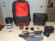 Canon camera;  canon lens and accessories